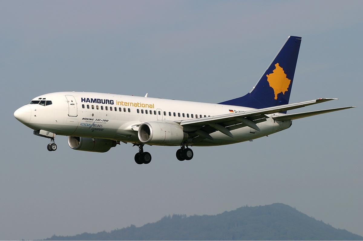 Kosova Airlines Info DE